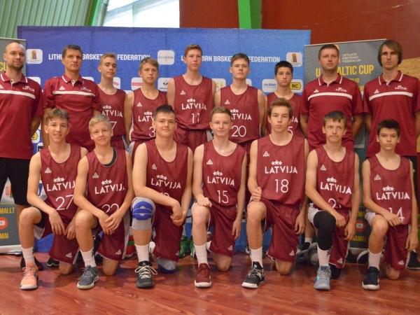 Liepājnieki Latvijas U14 izlasē