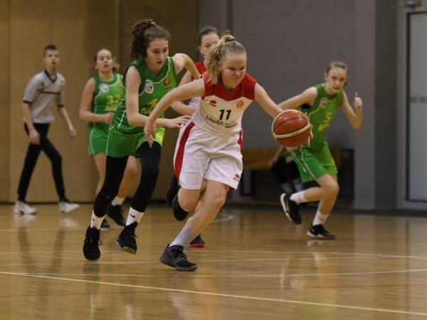 Aizvadītas EGBL spēles basketbolā U13 vecuma meitenēm