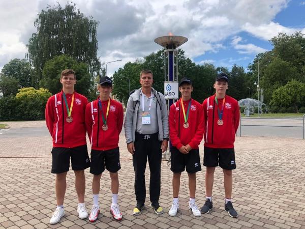 LSSS basketbolisti un volejbolisti Latvijas Jaunatnes olimpiādē