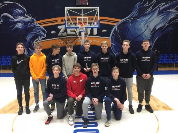 U16 basketbolisti atgriežas no EJBL 2. posma spēlēm