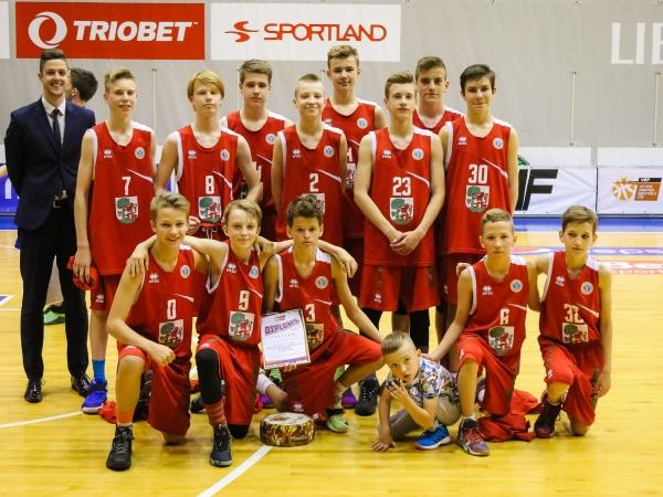 Raksturu parādīja arī pašmāju puiši no Liepājas Sporta spēļu skolas komandas